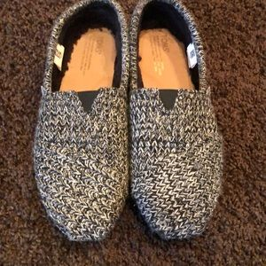 Toms Sweater Slip Ons